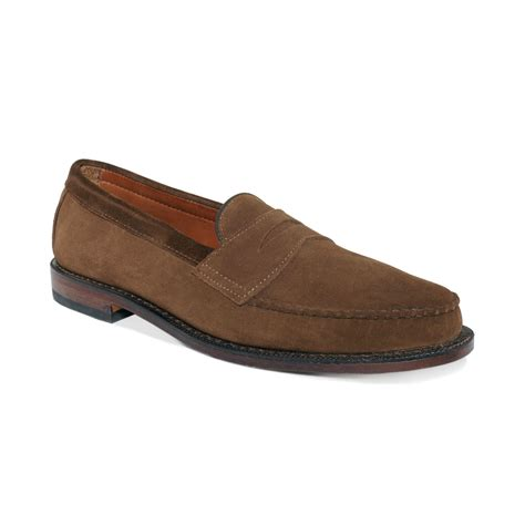 allen edmonds loafer allen edmonds patriot loafers in brown for lyst