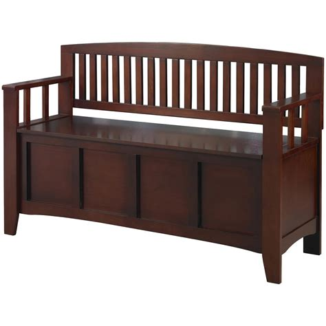 Bench Seat With Storage Linon Cynthia Storage Bench 609776 Living Room At Sportsman S Guide
