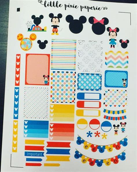 free printable disney planner stickers 1000 images about happy planner on pinterest life