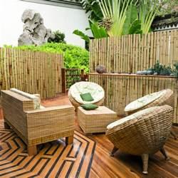 sichtschutz bambus garten bungalow 4 schlafzimmer grundriss kreative ideen f 252 r ihr