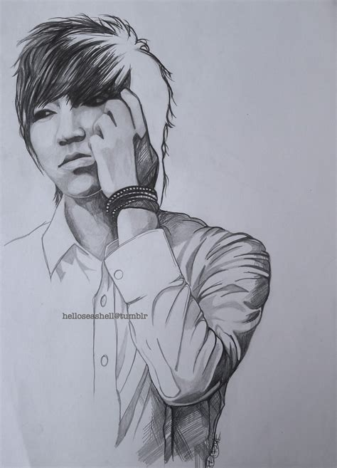 Kpop Drawing by K Pop Madelin A Medina