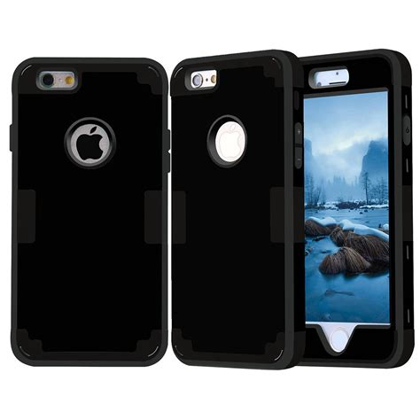 Iphone 6 6s Rugged Hybrid Defender Tranparrent Free Beltclip for iphone 5 c 6 s plus ipod shockproof heavy duty