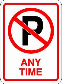 printable no parking signs free download clip art free