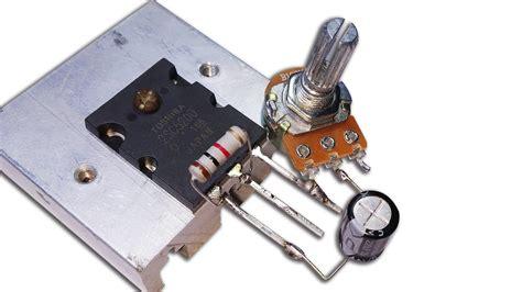 sc transistor  powerful amplifier