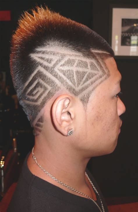 cut tattoos mens haircuts barbershop designs clipper styles and hair