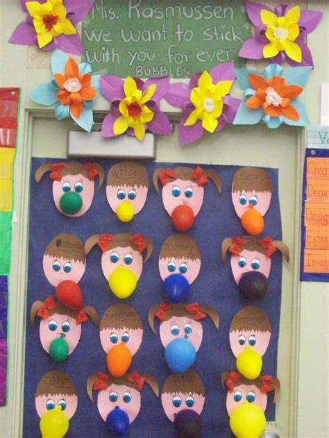 Kindergarten Decoration Themes by Classroom Door Deco For March Door Decor Room Parents