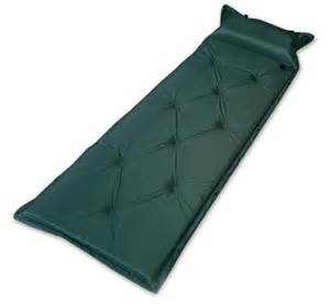 outdoor cing sleeping mat with inflatable cushion