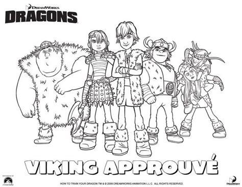 Coloriages Groupe De Vikings Fr Hellokids Com