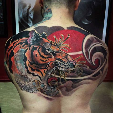 oriental tattoos for men asian tiger design