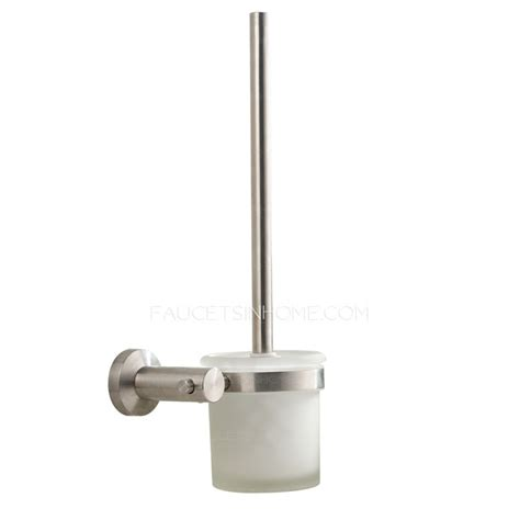 Brushed Stainless Steel Bathroom Accessories Modern Brushed Nickel Stainless Steel 5 Piece Bathroom