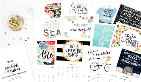printable quotes calendar 2015 like this item