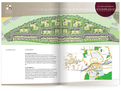print layout en español holbeinviertel frankfurt siebendesign
