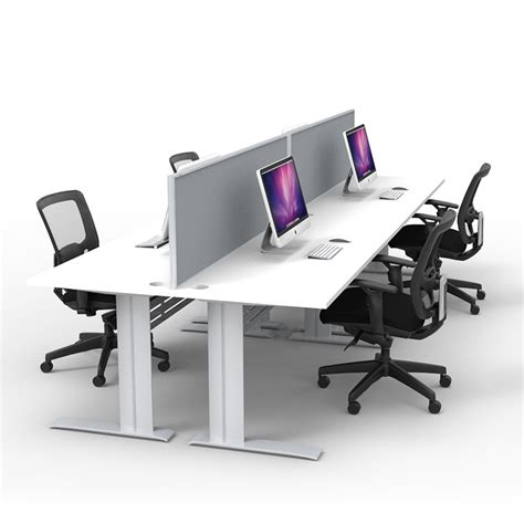 Office Desk Space Express Space System 4 Way Desks Fast Office Furniture