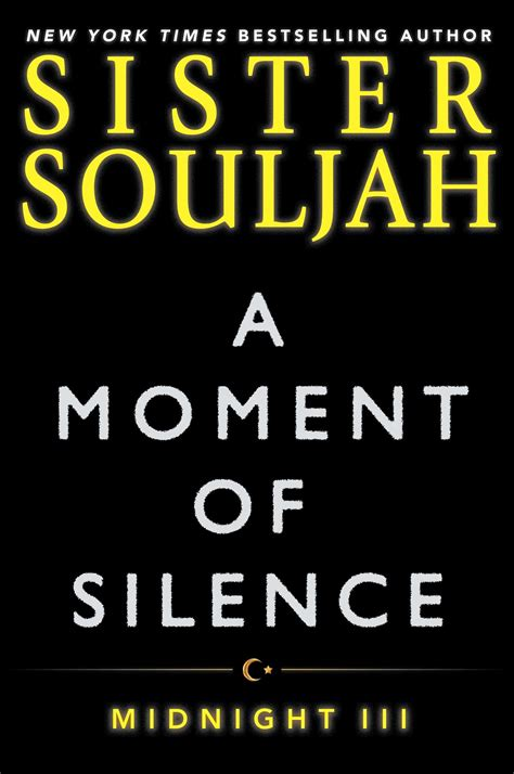 a moment of silence book by souljah official