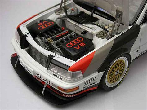 Audi V8 Dtm Motor by Audi V8 Quattro 46 Dtm 1991 Minichs Diecast Model Car