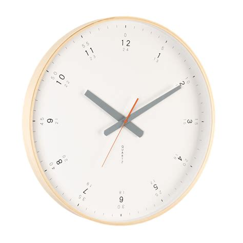 wall clock modern buy modern wooden wall clock online purely wall clocks