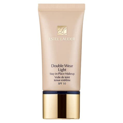 estee lauder double wear light base de maquillaje con fps10 est 233 e lauder double wear