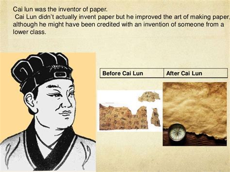 How Did Cai Lun Make Paper - isabel424 the invention of paper presentation ver 3