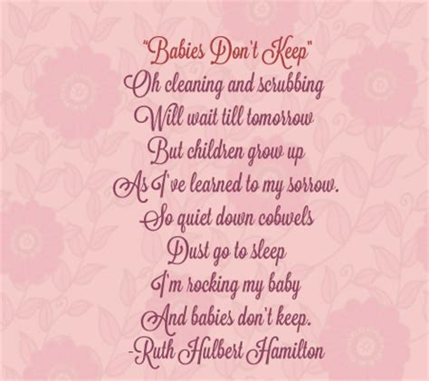 baby s s day poem 15 sweet and touching poems for and about