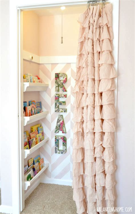 Closet Reading Nook by Closet To Reading Nook Design Dazzle