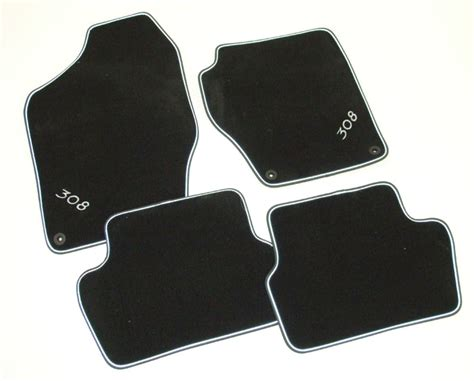 Sw Mats by Peugeot 308 Luxury Velour Carpet Mats Hatchback And Sw