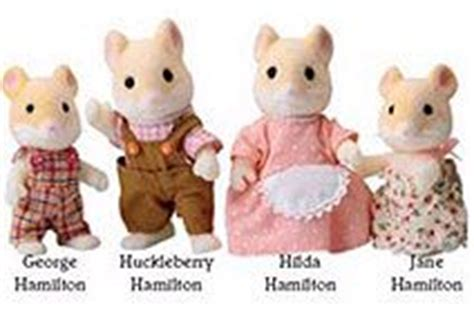 Sylvanian Families Original 3586 Hamster Baby sylvanian families childrens gifts and hamsters on