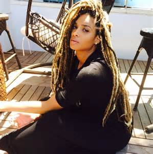 latest dread ciara dreadlocks natural hair copy black girl with long hair
