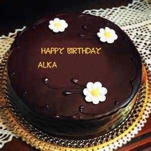 beautiful flowers with chocolate birthday alka name wishes cakes pix