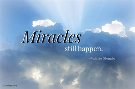 The Miracle Of Happiness Christian Adrianto Limited miracles still happen lds blogs