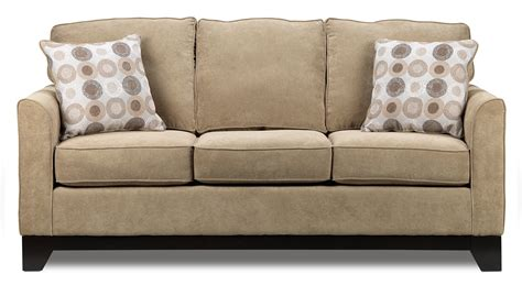 couch sofa sand castle sofa light brown leon s