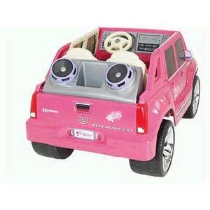 Pink Cadillac Ride On Power Wheels Fisher Price Cadillac Hybrid Escalade