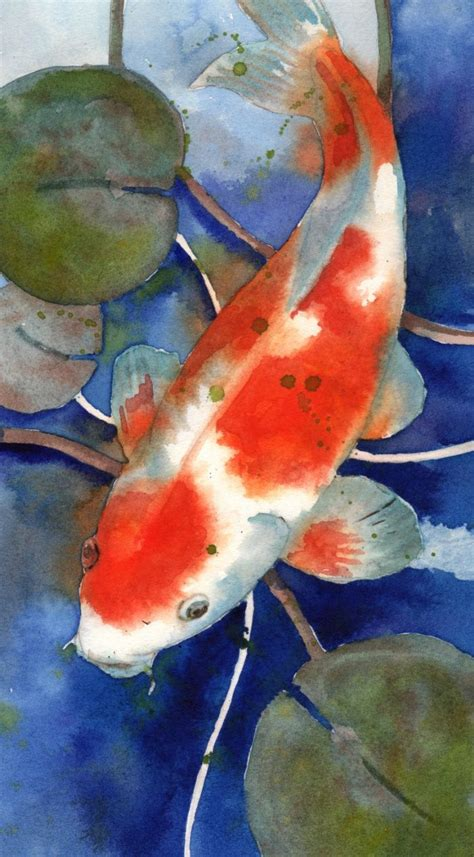 watercolor tattoo koi fish 25 best ideas about watercolor koi on