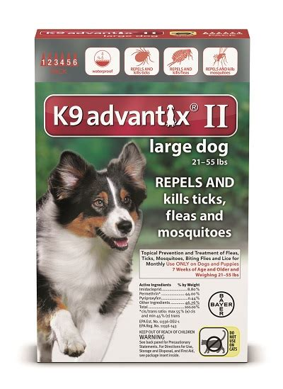 k9 advantix puppy us bayer animal healthcare llc 6 month k9 advantix ii large 21 55 lbs