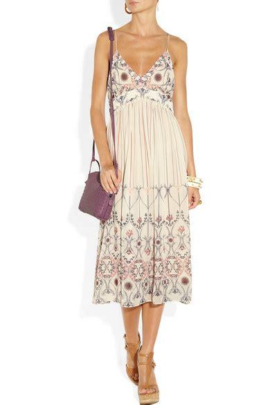 Silk Printed Silk Dress Intl bruno printed silk georgette dress net a