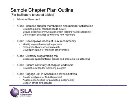textbook chapter outline template 30 3 year strategic planning