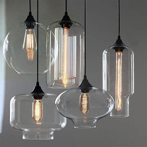 Retro Kitchen Light New Modern Retro Glass Pendant Ls Kitchen Bar Cafe Hanging Ceiling Light Ebay