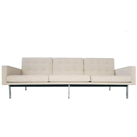 sofa bar fully restored florence knoll parallel bar sofa at 1stdibs