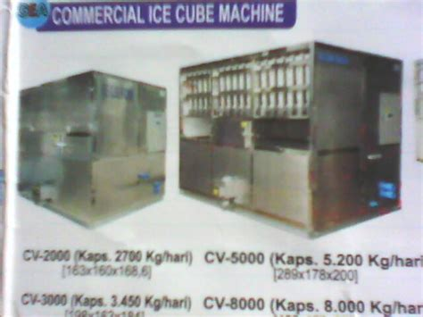 Freezer Pembuat Es Batu mesin es batu commercial cube machine