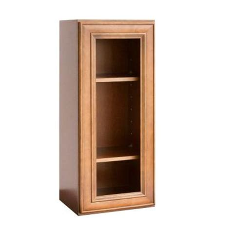 Single Wall Kitchen Cabinets Lakewood Cabinets 15x30x12 In All Wood Wall Kitchen Cabinet With Single Open Frame Door In