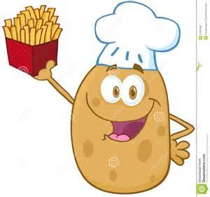 support de chef de pomme de terre pommes frites photos