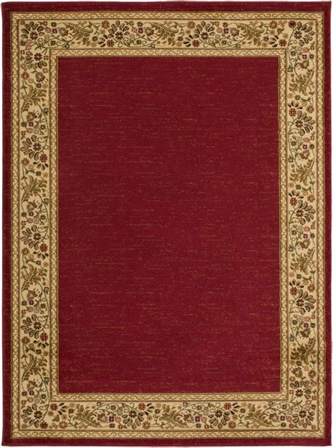 red accent rugs surya midtown mid 4740 red area rug rugsale com