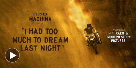 deus machina movie deus ex machina yamaha blaster motorcycle selectism