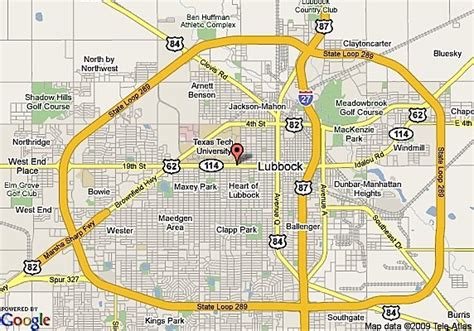 texas tech dorms map lubbock real estate market