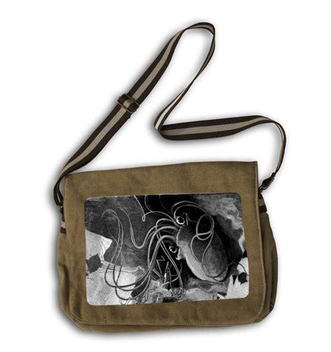 Battle Of The Handbags by War Of The Worlds Vintage Martian Messenger Bag