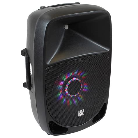 Hardware Address Lookup 15 800 Watts 2 Way Active Pa Speaker Built In Led Light Bk Miami