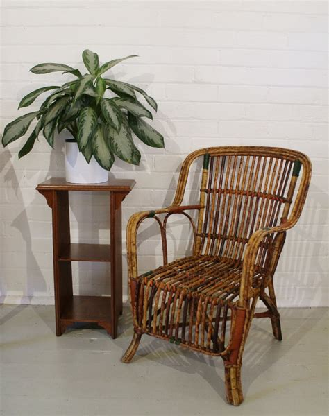 cane armchairs vintage pair of cane wing armchairs stock decorative antiques