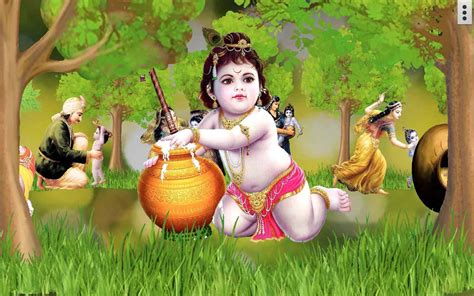 lord krishna themes for windows 7 free download 4d little krishna app live wallpaper android apps on
