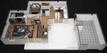 plan d une a 2 etages maison moderne