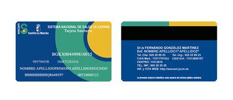 tarjeta sanitaria servicio de salud de castilla la mancha - Seg Soc Oficina Virtual