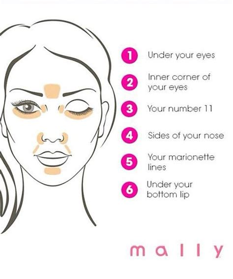 where do you put your makeup on 12 easy ways to actually put on concealer the right way